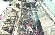 পতিতাপল্লীতে ভয়াবহ আগুনে প্রায় ৪০টি ঘর পুড়ে ছাই