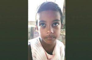 কোমলমতি শিশু ছাত্রী রায়ছা জাহান।