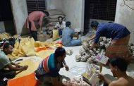 খাদ্য সামগ্রী বিতরন করলেন, বনাইদ সোস্যাল সার্ভ এসোসিয়েশন (BSSA)