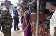 কালীগঞ্জ বাজারে নির্বাহী ম্যাজিস্ট্রেট সেনাবাহীনি ও পুলিশের হানা: অসাধু ব্যবসায়ীদের বিরুদ্ধে মোবাইল কোর্টে জরিমানা